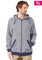 ZIMTSTERN Norris Hooded Zip Sweat marine