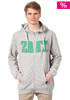 ZIMTSTERN Oddity Hooded Zip Sweat grey heather