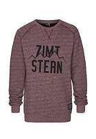 ZIMTSTERN Phil Sweat ruby wine heather