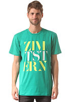 ZIMTSTERN Presstwo S/S T-Shirt emerald