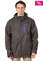 ZIMTSTERN Punish Technical Rain Jacket black mel.