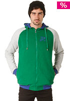 ZIMTSTERN Smith Hooded Zip Sweat forest green