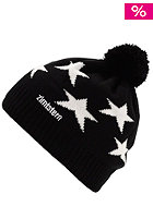 ZIMTSTERN Star 13 Beanie black/white
