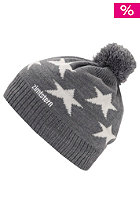 ZIMTSTERN Star 13 Beanie light grey/white
