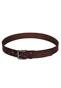 ZIMTSTERN Stella Leather Belt brown