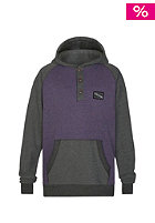 ZIMTSTERN Swen Hooded Sweat dark grey heather