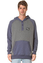 ZIMTSTERN Swen Hooded Sweat marine heather