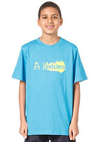 ZIMTSTERN TSYB Dirty Logo S/S T-Shirt blue