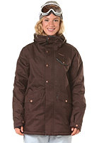 ZIMTSTERN Womens Aiko Snow Jacket brown