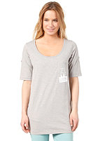 ZIMTSTERN Womens Amea S/S T-Shirt light grey heather