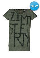 ZIMTSTERN Womens Cassidy S/S T-Shirt olive heather