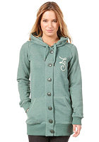 ZIMTSTERN Womens Cheers Hooded Zip Sweat forest heather