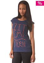 ZIMTSTERN Womens Glypho S/S T-Shirt marine