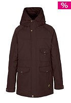 ZIMTSTERN Womens Isla Snow Jacket coffee