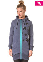 ZIMTSTERN Womens Kim Hooded Zip Sweat marine heather