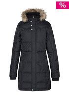 ZIMTSTERN Womens Laredo Fur Down Coat black