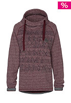 ZIMTSTERN Womens Milla Hooded Sweat ruby wine heather