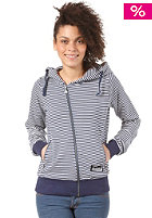 ZIMTSTERN Womens Rip Hooded Zip Sweat marine