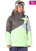 ZIMTSTERN Womens Sarin Snow Jacket lime