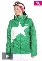 ZIMTSTERN Womens Snowy Jacket 2012 green