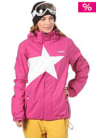 ZIMTSTERN Womens Snowy Jacket 2013 fuchsia/white