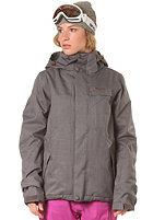 ZIMTSTERN Womens Snowy Mash Snow Jacket dark grey