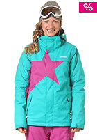 ZIMTSTERN Womens Snowy Snow Jacket atlantic/raspberry
