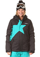 ZIMTSTERN Womens Snowy Snow Jacket black/atlantic