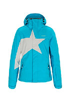 ZIMTSTERN Womens Snowy Snow Jacket blue/lt grey melange