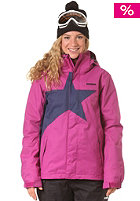 ZIMTSTERN Womens Snowy Snow Jacket raspberry/marine