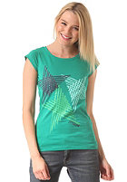 ZIMTSTERN Womens Stride S/S T-Shirt emerald