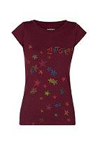 ZIMTSTERN Womens Superstar S/S T-Shirt ruby wine
