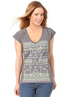 ZIMTSTERN Womens TSW Maya S/S T-Shirt dark grey heather