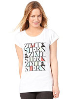 ZIMTSTERN Womens TSW Screep S/S T-Shirt white