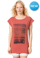 ZKHT Womens Naitiv S/S T-Shirt used light red with fotoprint