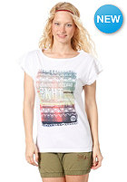 ZKHT Womens Naitiv S/S T-Shirt white with fotoprint