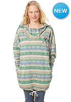 ZKHT Womens W-Waterfall Hooded Sweat indian pattern