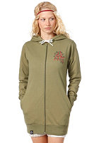 ZKHT Womens ZKHT Hooded Zip Sweat light green