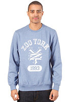 ZOO YORK Hustle Crew Sweatshirt deep blue marle