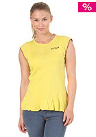 ZOO YORK Womens Apple Cap Sleeve S/S T-Shirt citrus yellow