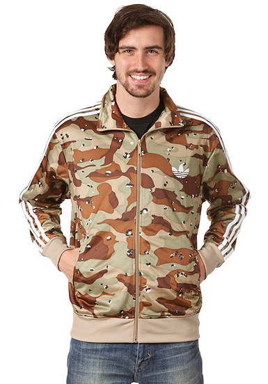 adidas adi camo firebird track top jacket track top for men green. Black Bedroom Furniture Sets. Home Design Ideas