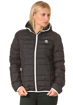 ADIDAS Womens Slim Pad HD Jacket black/runwhi