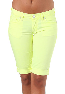BENCH Lesly Shorts mid worn yellow