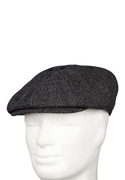 BRIXTON Brood Cap grey/black herringbone