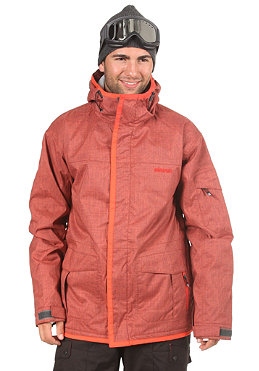 ELEVEN Root Jacket 2012 poppy orange/dark grey