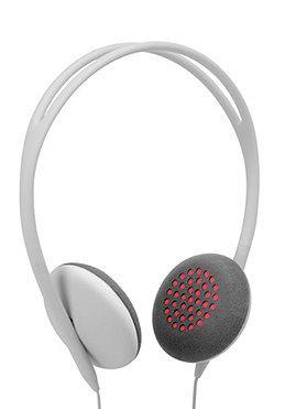 INCASE Womens Pivot Headphones ash/fluoro pink