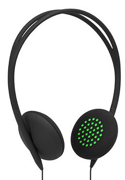 INCASE Womens Pivot Headphones black/fluoro green