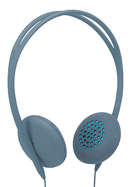 INCASE Womens Pivot Headphones dove/fluoro blue