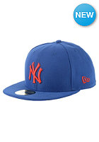 MLB Seasonal Contrast New York Yankees Fitted Cap blue royal/scarlet