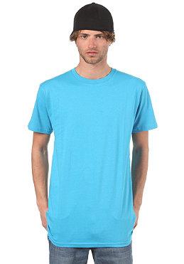 PLANET SPORTS Blank S/S T-Shirt slim fit process cyan